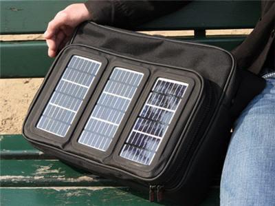 la sacoche solaire