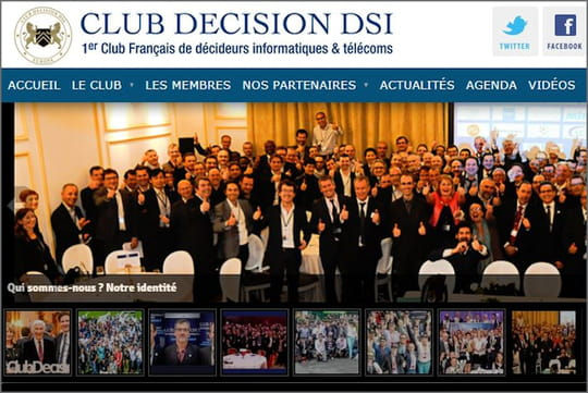 200DSI attendus pour le dîner de gala 2018du Club Décision DSI