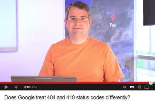SEO: comment Google gère les erreurs 404et 410