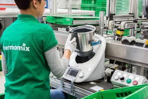 Reportage dans l'usine de Thermomix