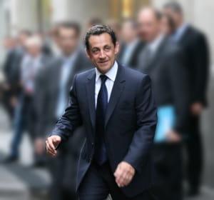 le président français nicolas sarkozy.