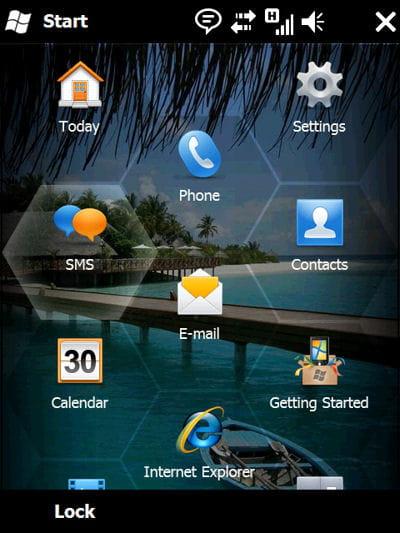 microsoft propose windows mobile 6.5, avec des fonctionnalités orientées sur le