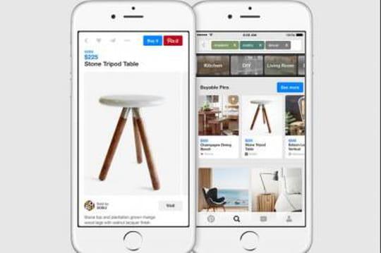 """Pinterest lance un bouton """"acheter"""" et met un pied dans l'e-commerce"""