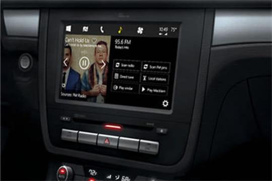 Windows débarque dans les voitures