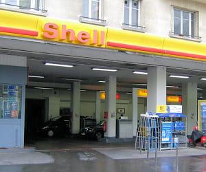 le prix du gazole dans les stations shell a baissé de 3,32% en 2009.
