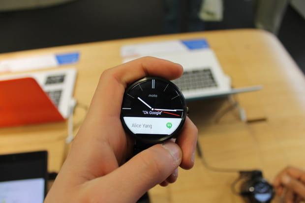 Moto 360, la montre connectée de Google