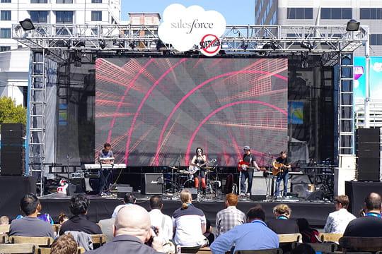 Dreamforce au Moscone Center