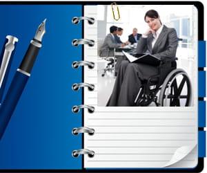 insertion des handicapés au travail.