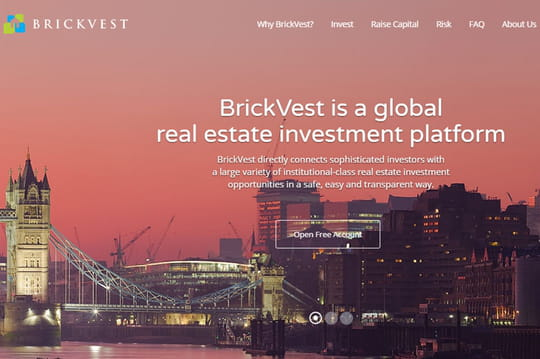 La start-up d'investissement immobilier BrickVest lève 2 millions de livres