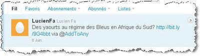 son tweet sur la coupe du monde.