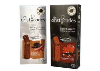 biscuits sucré-salé aristocades.