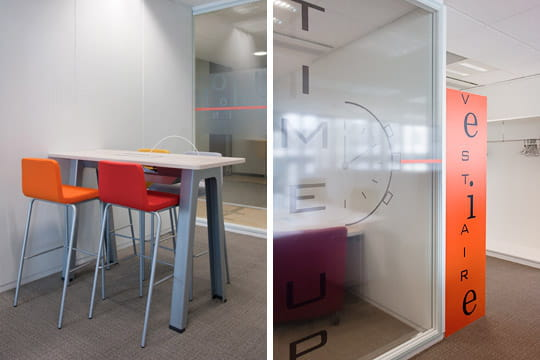 Siège BNP Paribas Cardif : Petites salles de réunion