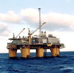 le champ pétrolier d'asgard, en mer de barents.
