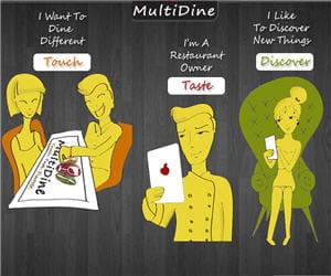 multidine révolutionne l'expérience gastronomique.