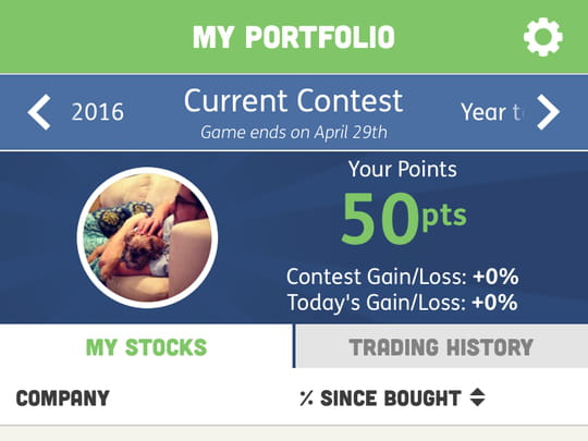 Cette nouvelle application est la ligue fantasy de la Bourse