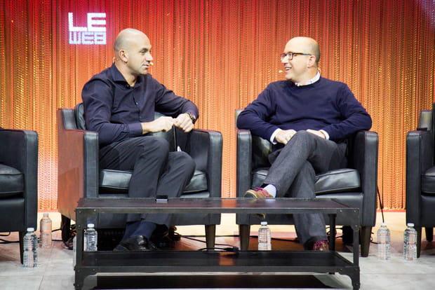Loïc Le Meur et Michael Sippey