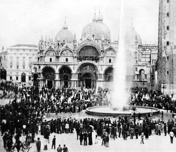 la compagnie générale des eaux inaugure une concession à venise en 1879.