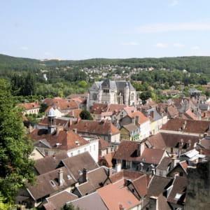 la ville de bar-sur-seine.