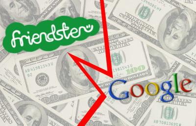friendster a refusé une offre de rachat de google