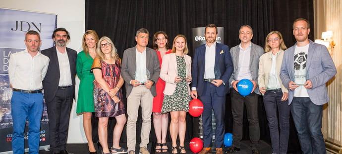 Les gagnants de la Nuit du Directeur Digital 2018sont...