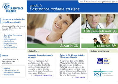l'assurance maladie en ligne