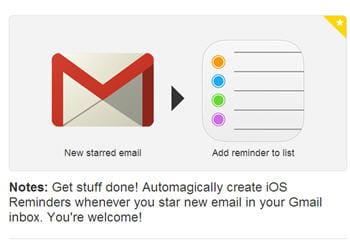 ilest possible de se rappeler d'un e-mail important grâce à ifttt.