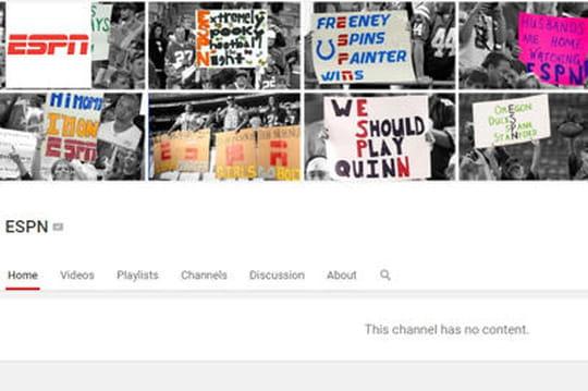 Voici pourquoi ESPN a retiré tous ses contenus de Youtube