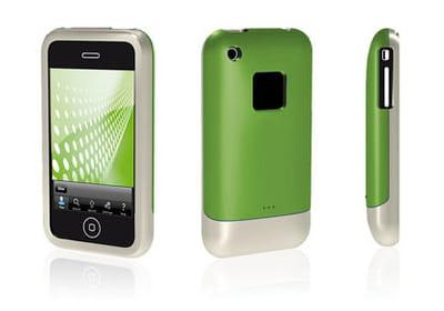 la coque 3d pour iphone, peu encombrante et plutôt jolie