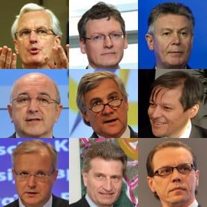 découvrez les commissaires européens chargés des questions économiques.