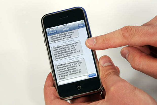 Fonction SMS avancée