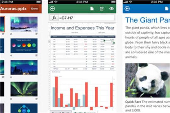 Office365pour iOS déçoit les utilisateurs d'iTunes