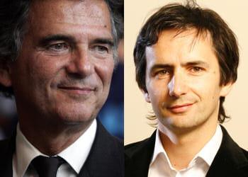 alain de pouzilhac et son fils edouard, co-fondateur de l'agence 5eme gauche