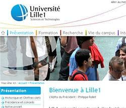 l'université de lille 1 utilise elgg