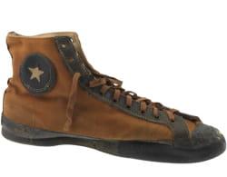 une des premières chaussures all star, dans les années 1920.