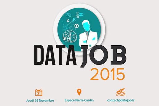 Datajob 2015 : la donnée au centre duprogramme