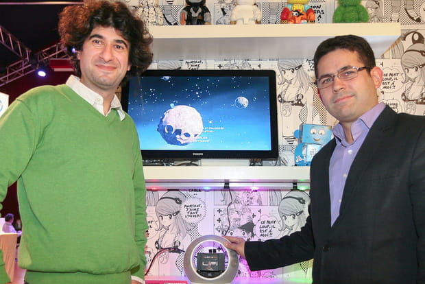 LeWeb Paris 2012 : réseau Li-Fi