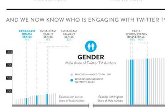 Infographie : quel est le profil des TV-Twitteurs ?