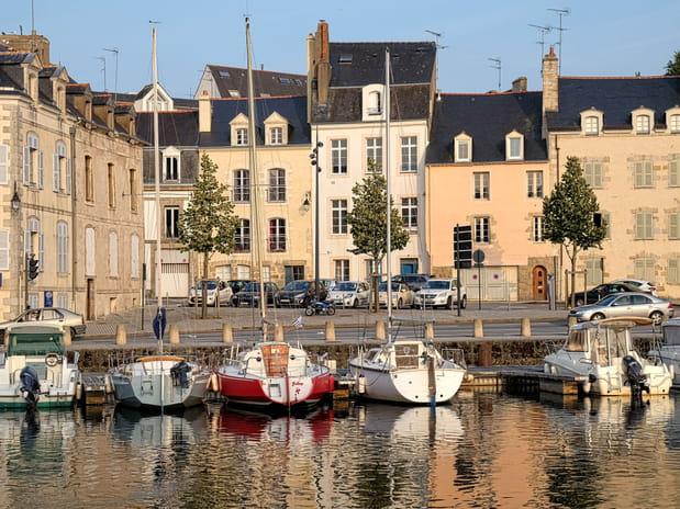 8e : Vannes (Morbihan), 2 328 euros le mètre carré