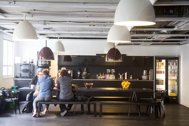 Siège Deezer : cafétéria