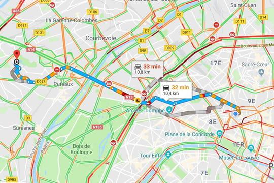Google Maps: les utilisateurs peuvent signaler les radars en voiture