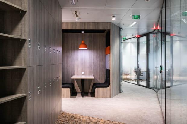 Des bureaux flexibles et des espaces pour s'isoler