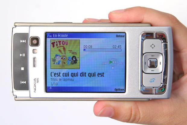 Mobile ou baladeur multimédia