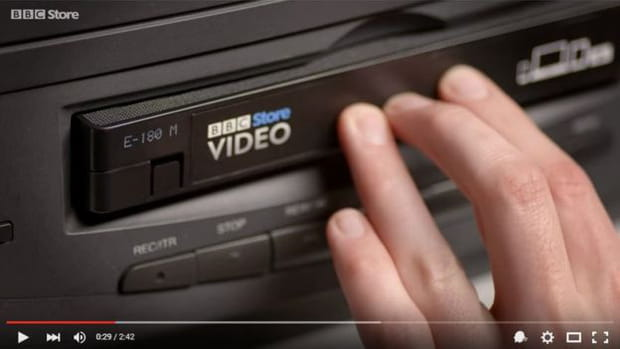 La BBC remet la VHS au goût du jour