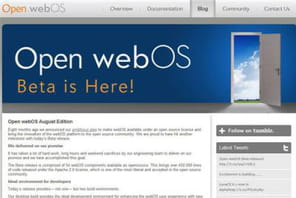 WebOS proposé en Open Source par HP