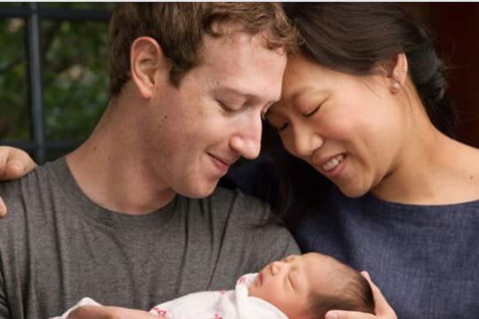 Mark Zuckerberg devient papa et annonce qu'il cèdera 99% de ses actions Facebook