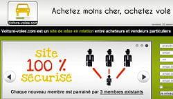 le site voiture- volee.com a fait le buzz et généré de nombreux backlinks. il