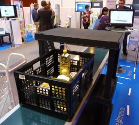 le portique rfid et la caisse enregistreuse intelligente développés par le