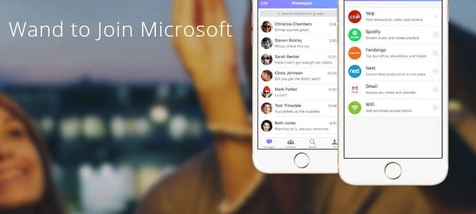 Conversation as a platform : Microsoft s'offre Wand Labs