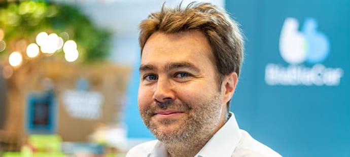 """Frederic Mazzella (BlaBlaCar) :""""BlaBlaCar a dépassé les 100millions d'inscrits dans le monde"""""""