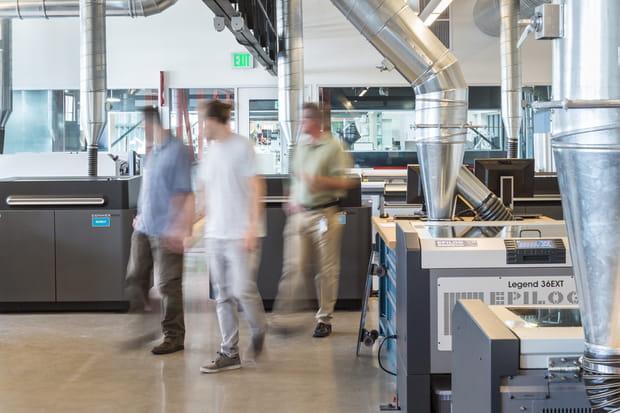 Un laboratoire d'impression 3D